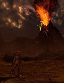 Naurfire Volcano