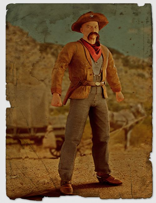 Shenandoah: Texas Ranger Outfit for Genesis 3 Male(s)