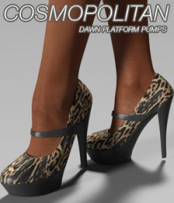 COSMOPOLITAN - Dawn Platform Pumps