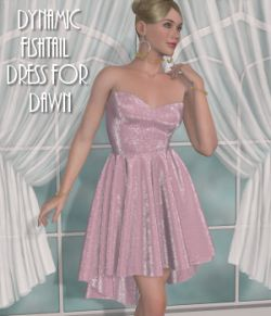 Dawn's Dynamics-C-Fishtail Dress