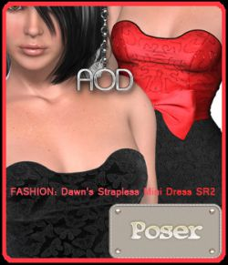 FASHION: Dawn's Strapless Mini Dress SR2