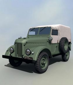 GAZ69 TROOP CARRIER EXTENDED LICENSE