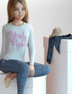Amber Clothing and Accessories for Genesis 3 Female(s)