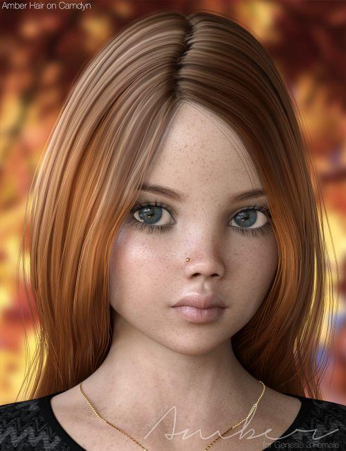 amber bundle for genesis female s 3d models for daz
