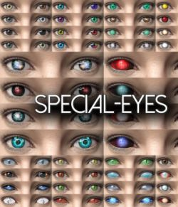 Special-Eyes for Daz Studio Iray