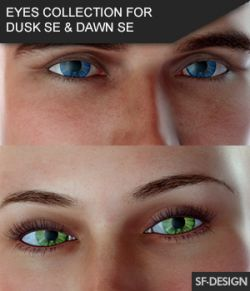 Iray Eyes Collection for Dusk SE and Dawn SE
