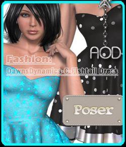 FASHION: Dawns Dynamics Fishtail Dress
