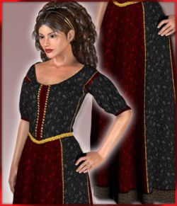 Dawn Medieval Gown