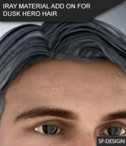Iray Material Add On for Dusk Hero Hair