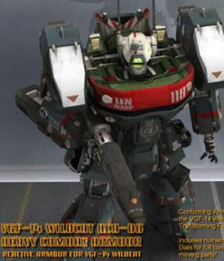 VGF-14 Wildcat HCA-00 Reactive Armour- for Poser