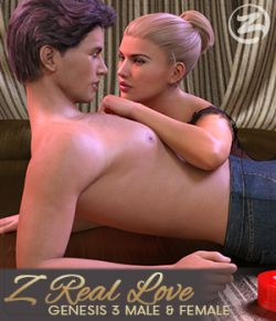 Z Real Love - Poses for Genesis 3 Male and Female and Michael and Victoria 7