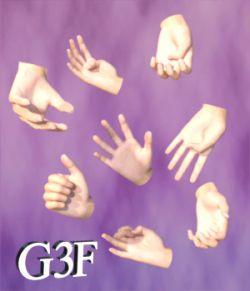 BSL Handshapes for G3F