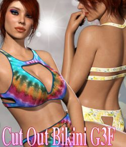 Cut Out Bikini G3F