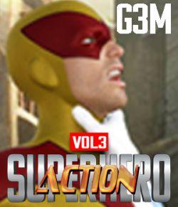 SuperHero Action for G3M Volume 3