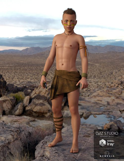 Peter for Genesis 3 Male - Boy Character