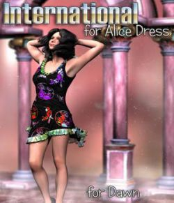 Immortal_Moments_Art- International for Alice Dress by Lully