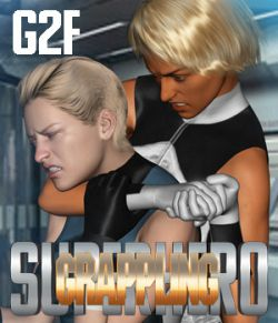 SuperHero Grappling for G2F Volume 1