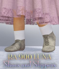 RA 900 Luna Shoe and Slipper