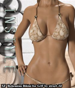 InStyle- X-Fashion Bohemian Bikini for Genesis 3 Females