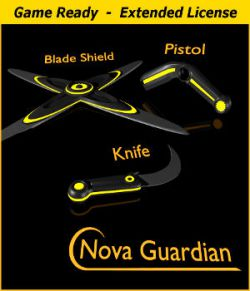NOVA GUARDIAN Weapon Set- Extended License
