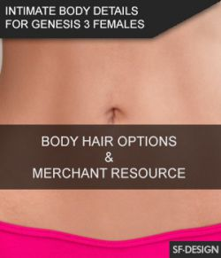 Intimate Body Details for Genesis 3 Females