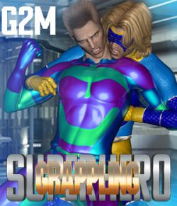 SuperHero Grappling for G2M Volume 1