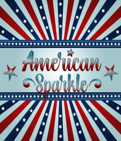 American Sparkle PS Layer Styles