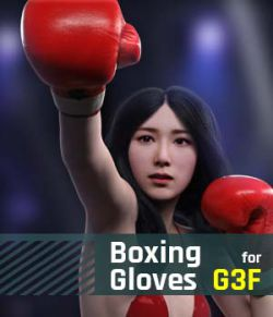 Boxing Gloves G3F for Genesis 3 Female