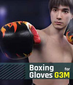 Boxing Gloves G3M for Genesis 3 Male