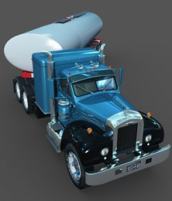 MACK B100 AND TANK TRAILER-EXTENDED LICENSE