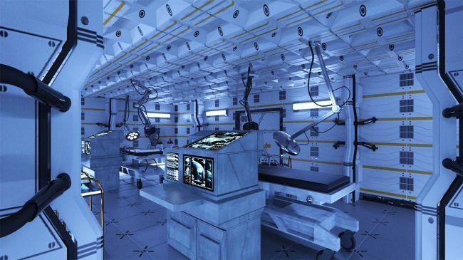 Futuristic Laboratory 3d Models For Daz Studio And Poser