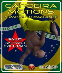 Capoeira Motions for Genesis