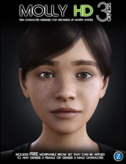 Molly HD for Genesis 3 Female