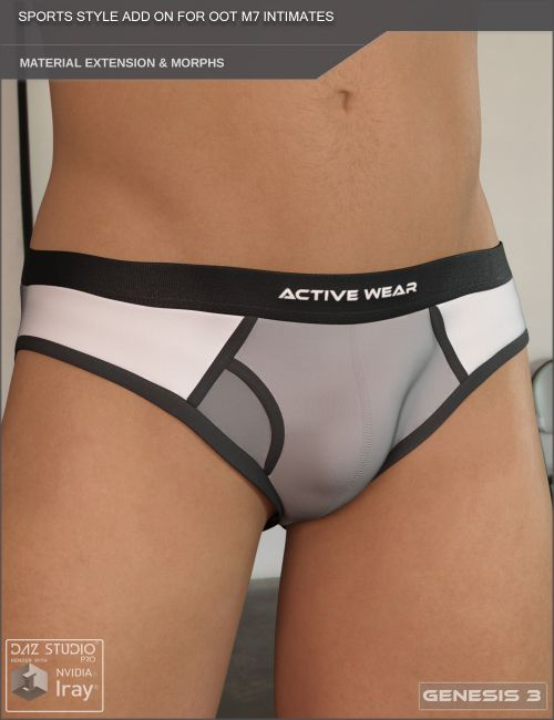 Sports Style Material Extension Add On for OOT M7 Intimates