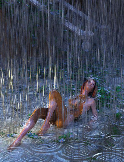 Heavy Rain for 3Delight and Iray