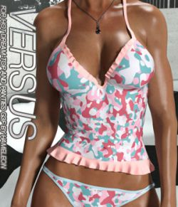 VERSUS- Hot Dream- Top and Panties for G3 and V7