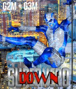 SuperHero Down for G2M & G3M Volume 1