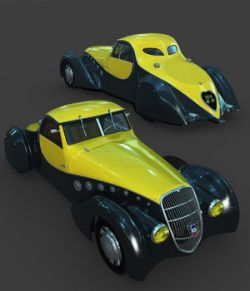 PEUGEOT 402 DARLMAT 1938-EXTENDED LICENSE