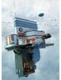 Anti-Gravity Office Space