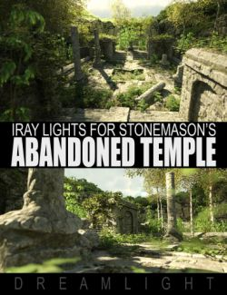Abandoned Temple Iray Lights