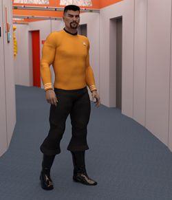 Trailblazer G3M sci-fi Uniform for Genesis 3
