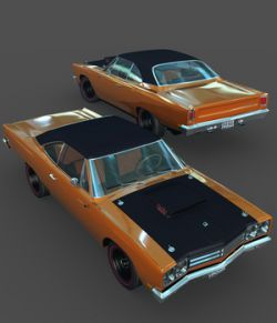 PLYMOUTH ROADRUNNER 1969-EXTENDED LICENSE
