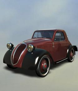 FIAT TOPOLINO EXTENDED LICENSE