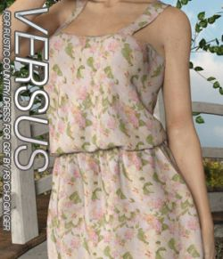 VERSUS- Rustic Country Dress for G3F