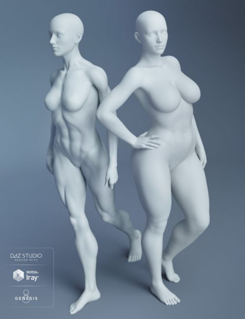 Genesis 8 Female Body Morphs