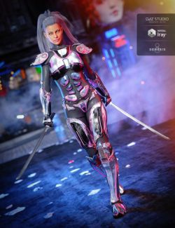 Sci-Fi Samurai for Genesis 8 Female(s)