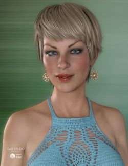 Gracy Hair for Genesis 3 and 8 Female(s)