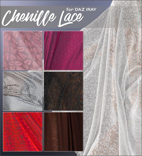 Daz Iray - Chenille Lace