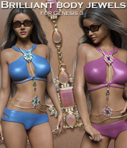 Brilliant Body Jewels for the G3 Female