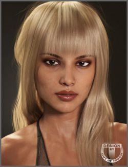 Liv Hair for Genesis 3 Female(s) and Genesis 8 Female(s)